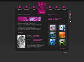 NINA's Personal website by pixelbudah