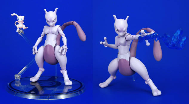 D-ARTS - Mewtwo by Lalam24