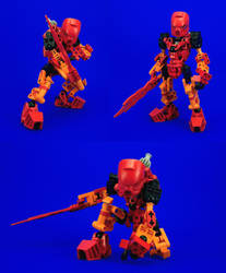 Bionicle - Tahu Re-Revamp by Lalam24
