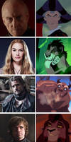 Game of thrones meets Disney: part three by SingerofIceandFire