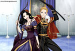 Snow White and Prince Charming by SingerofIceandFire