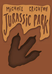 Vector Book Cover: Jurassic Park by YaYaOo