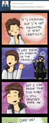 SEXY AIZEN AND THE ACTUAL ARC by YaYaOo