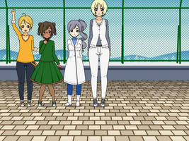 Weather Control Pretty Cure *Fall-Spring Outfits* by SugaryDiamond