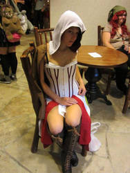 Sitting Pretty by XIIICosplay