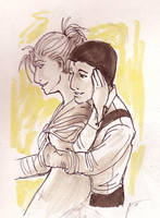 Long Ago Embrace by CassieForgen
