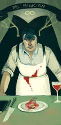 Hannibal Tarot - The Magician by CassieForgen