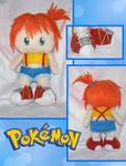 Chibi Pokemon Misty Plushie by animeyume06