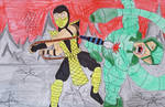Sting of the Scorpions by MaleVolentSamSon