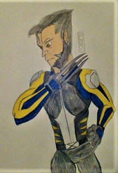 Days Of Future Past Wolverine by MaleVolentSamSon