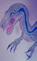 Jurassic World Blue by MaleVolentSamSon