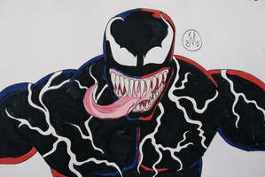 Tom Hardy's Venom (1994 Style)  by MaleVolentSamSon