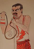 Freddie Mercury by MaleVolentSamSon