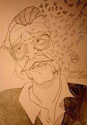 Stan Lee (1922 to 2018) by MaleVolentSamSon