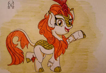 Autumn Blaze Drawing by MaleVolentSamSon