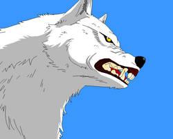 Kiba from Wolfs Rain by Gingatora