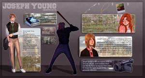 CREEPYPASTA OC: JOSEPH YOUNG (New) by SatiricalKat