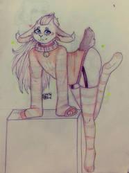 Cute Girl  .:AT:. by xXHimFurryXx