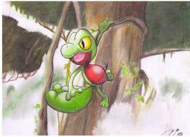 Treecko by CharmanDrigo