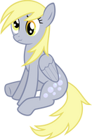 Bemused Derpy by MillennialDan