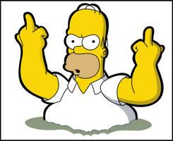 Homer: So Long Looosers by LeeRoberts