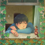 Karigurashi no Arrietty by esquell