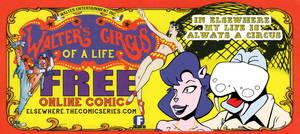 Walter's Circus TICKET by Joe5art