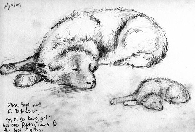 Sleeping Siwa by troque