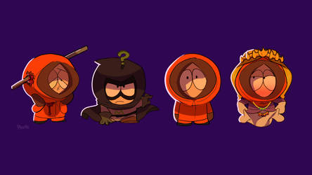 Kenny McCormick by Pinkietoons
