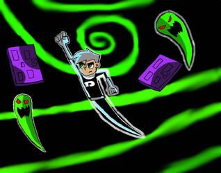 He's Gonna Catch Them All Cuz He's Danny Phantom  by EdEddnEddy3456