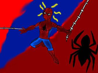 Spider-Man Fan-Art: Here Comes The Spider-Man. by EdEddnEddy3456