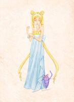 Princess Serenity by Moonie-Dreamer