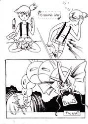 Misty Eats a Magikarp by Moonie-Dreamer