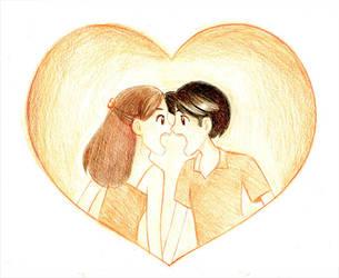Screaming Valentine! by Moonie-Dreamer