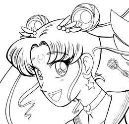 Sailor Moon Sneak Peek by Moonie-Dreamer