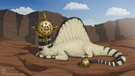 Sun Lizard by Demmmmy