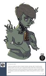 Mutant Girl by Demmmmy