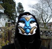 Alien Assassin Mask - 3rd View by ScribbleFox