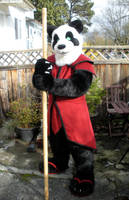Panda Warrior by ScribbleFox