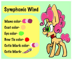 Symphonic Wind reference sheet by ArtistGinger