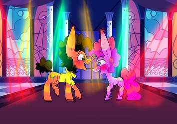 Party planners dancing by ArtistGinger