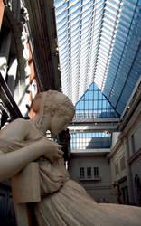 Waiting at The Met by Lady-Au-Pair