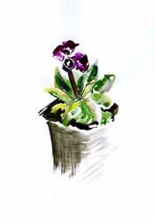 Flower-sketch-02 by Joinerra
