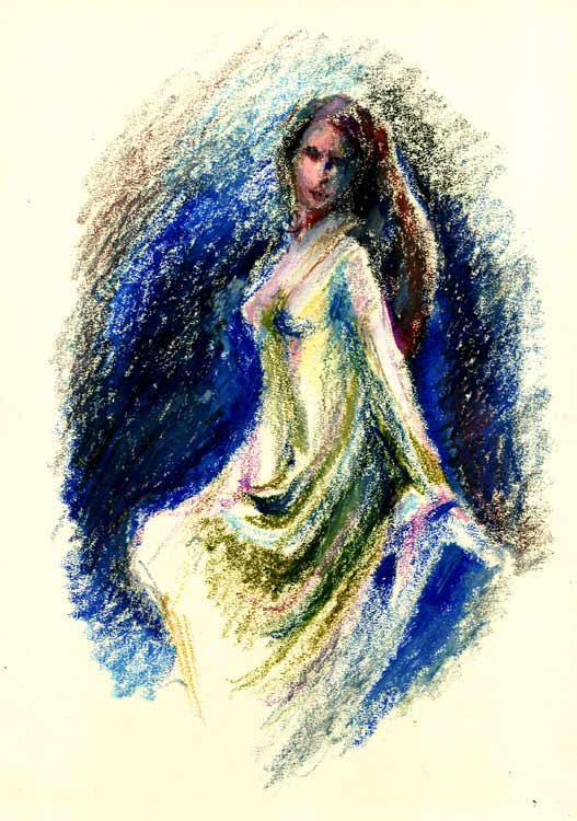 Dark-elf-in-blue-mandorla by Joinerra