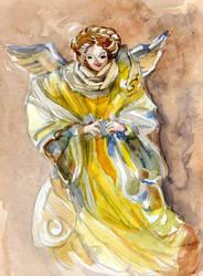 Paper-angel-postcard by Joinerra