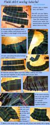 plaid skirt sewing tutorial by mariedark