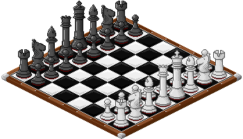 Pixel Chess Board by justPhantasy