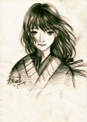 yakuza girl by TheUglyFinger
