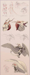 Sketch Page 0009 - Raziel by Nainteins
