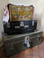 suitcases 1 by yellowicous-stock